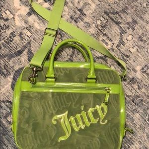 Juicy Couture Lime Green Laptop Bag